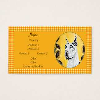 Great Dane Sunny Harle Business Cards