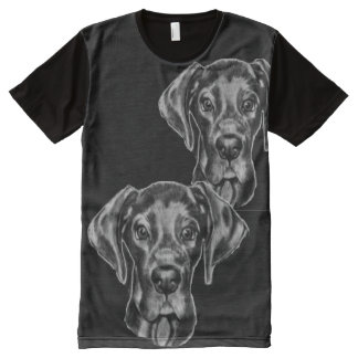 Great Dane T-Shirt with original artwork