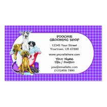 Great Dane Tub Full Business Cards