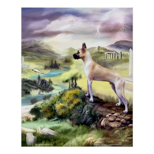 Great Dane Valley of Zeus Poster
