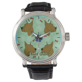 Great Dane Wrist Watch