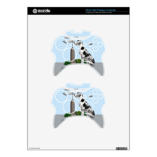 Great Dane Xbox 360 Controller Decal