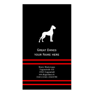 Great Danes Business Cards