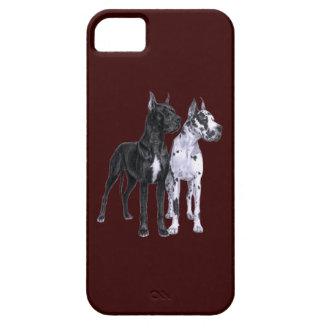 Great Danes Drawing iPhone SE/5/5s Case