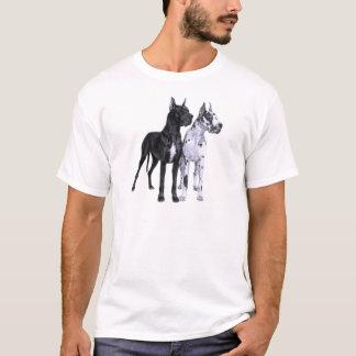 Great Danes Drawing T-Shirt