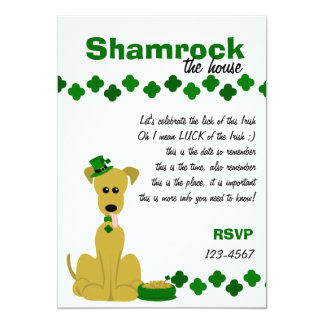 Great Danes Love St.Patrick's Day! Card