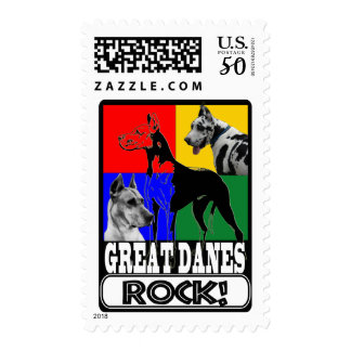 GREAT DANES ROCK! POSTAGE