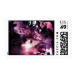 great-dark-pink-abstract-background postage stamp