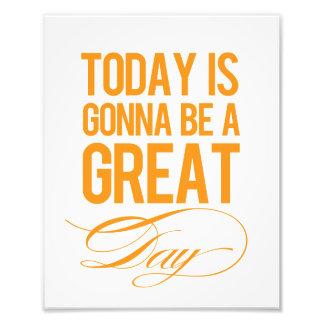"""Great Day"" Modern Wall Art Print Photo Print"