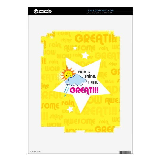 Great Day Skin For iPad 2