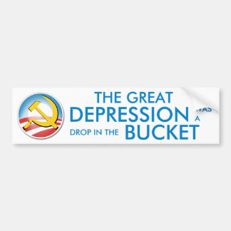 Great Depression Was Nothing Car Bumper Sticker