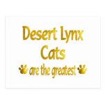 Great Desert Lynx Postcard