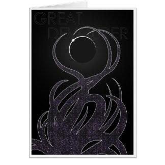 Great Devourer - Worship Old Gods Greeting Card