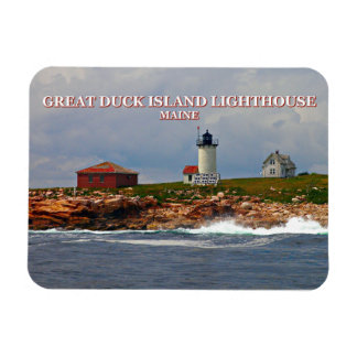 Great Duck Island Lighthouse, Maine Magnet