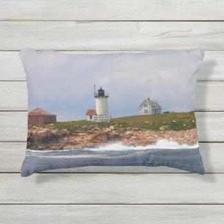 Great Duck Island Lighthouse, Maine Outdoor Pillow