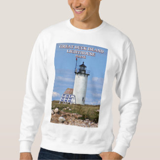 Great Duck Island Lighthouse, Maine Sweatshirt