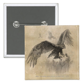 Great Eagles Sketch Pinback Buttons