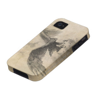 Great Eagles Sketch Case For The iPhone 4