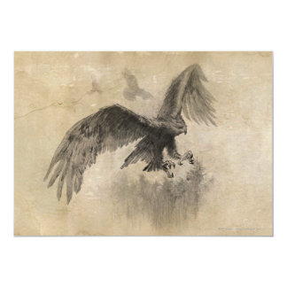 Great Eagles Sketch 5x7 Paper Invitation Card