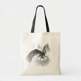 Great Eagles Sketch Tote Bag