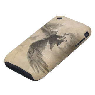 Great Eagles Sketch Tough iPhone 3 Cover