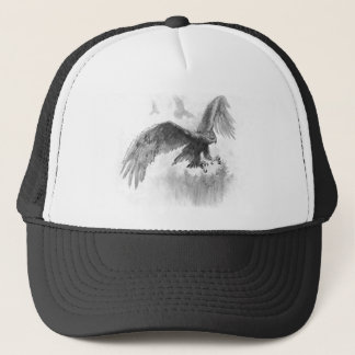 Great Eagles Sketch Trucker Hat