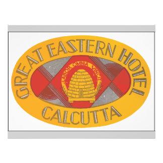 Great Eastern Hotel Calcutta, Vintage Flyer