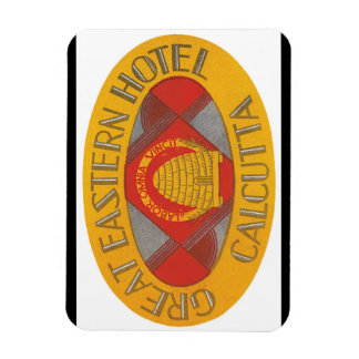 Great Eastern Hotel Calcutta_Vintage Travel Poster Magnet
