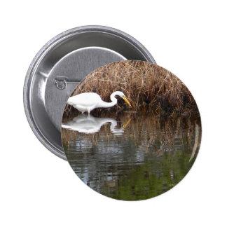 Great Egret 1 Button
