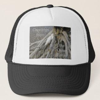 Great Egret (Ardea alba) OBX Outer Banks Trucker Hat