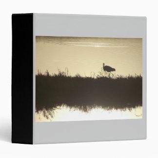 Great Egret at Dawn Avery Binder