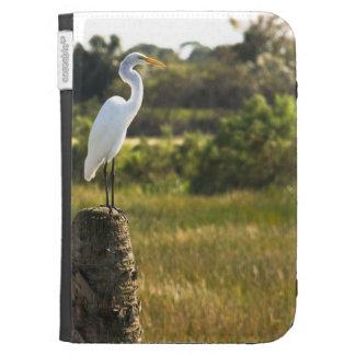 Great Egret at Viera Wetlands Caseable Case Kindle Folio Cases
