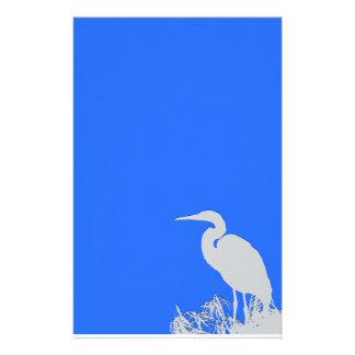 Great Egret Bird Stationery