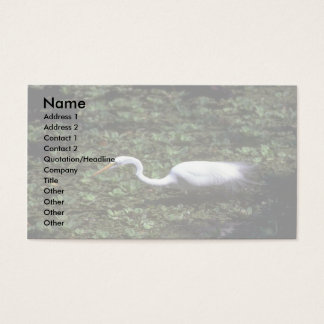 Great Egret Business Card