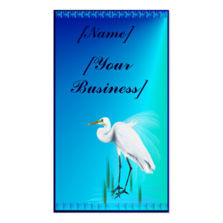 Great Egret Business Cards