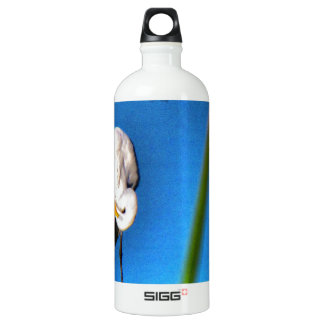 Great Egret HDR Photograph Water Bottle