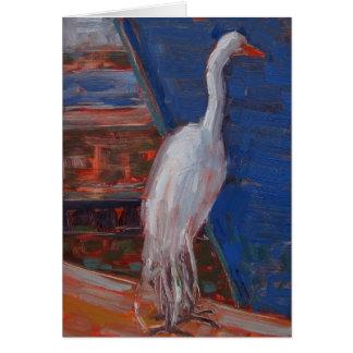 Great Egret, Humboldt Bay Card