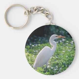 Great Egret Keychains