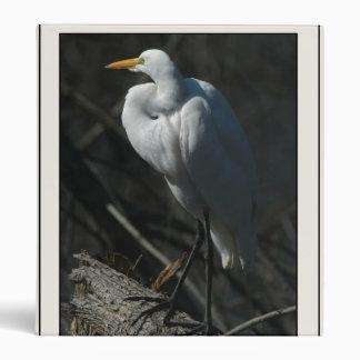 Great Egret Pond Avery Binder