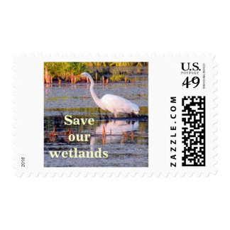 Great Egret Postage