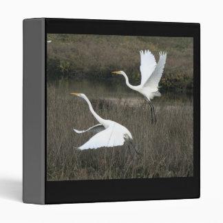 Great Egrets Avery Binder