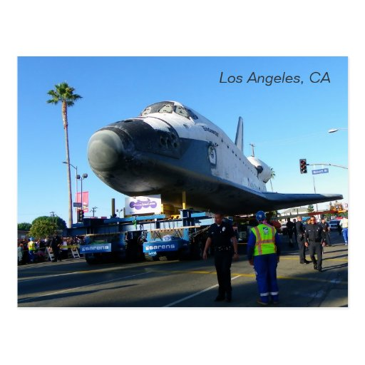 Great Endeavour in Los Angeles Postcard! Postcard