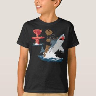Great Escape - caballería del tiburón del oso Playera