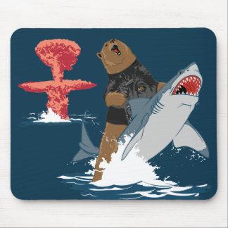 Great Escape - caballería del tiburón del oso Tapete De Raton