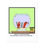 Great Escape: Dibujo animado del Goldfish Postal