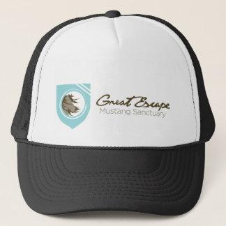Great Escape Mustang Sanctuary Trucker Horizontal Trucker Hat
