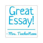 "[ Thumbnail: ""Great Essay!"" Teacher Feedback Rubber Stamp ]"