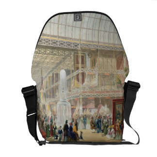 Great Exhibition, 1851: Central Transept of the Cr Messenger Bag