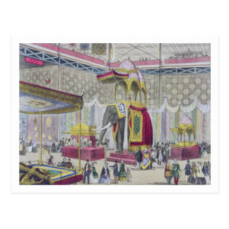 Great Exhibition, 1851: Indian Department from Int Postcard