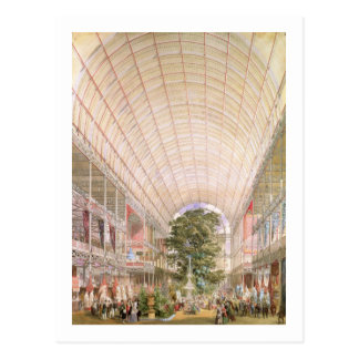 Great Exhibition of 1851. Decoration of the transe Postcard